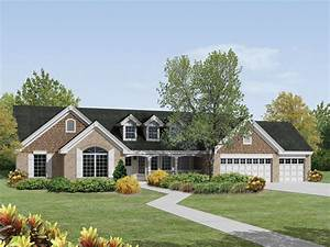 St Laurent Country Ranch Home Plan 007D-0174 House