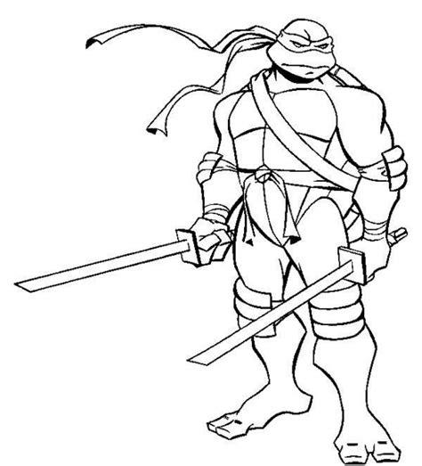 ninja turtle coloring page  printable