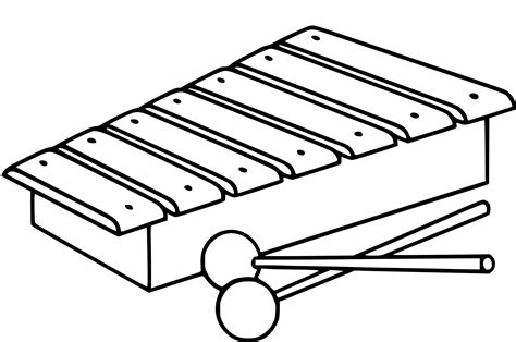 marimba colouring pages page  sketch coloring page