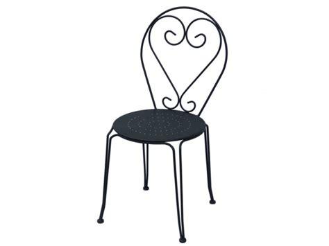 chaise en fer forgé de jardin table 4 chaises jardin fer forgé guermantes anthracite