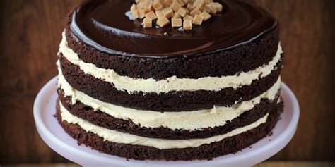 salted caramel chocolate fudge cake recipe great british