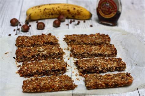 barres de c 233 r 233 ales maison avoine banane noisettes et chocolat amandine cooking