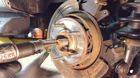 ford explorer rear wheel bearing replacement