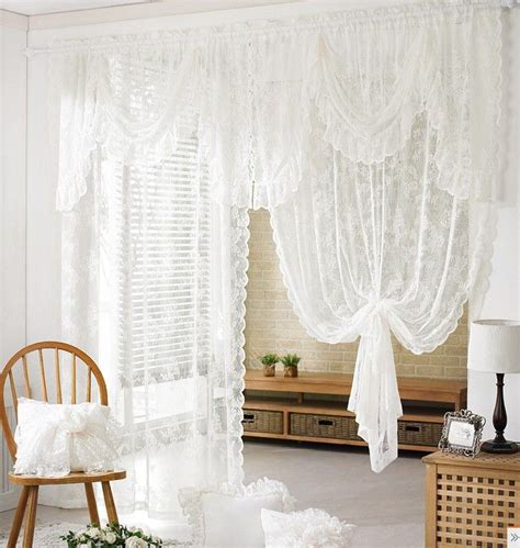 best 25 white lace curtains ideas on