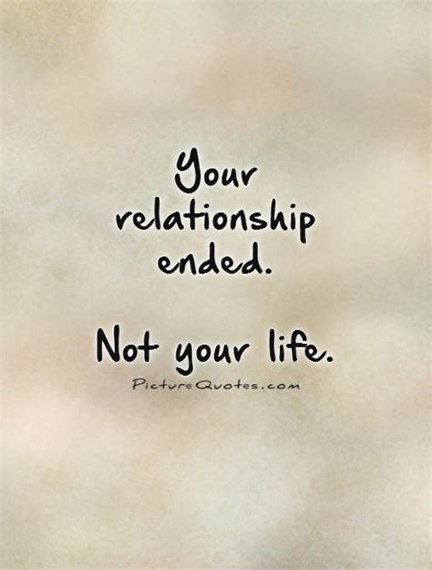 dealing with a break up quotes