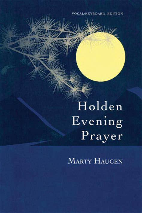 holden evening prayer  anniversary leader edition