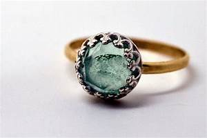 25 unconventional affordable engagement rings brit co for Unconventional wedding rings