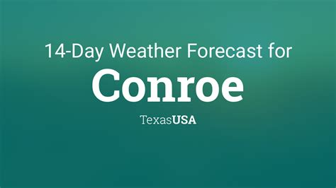 conroe texas usa  day weather forecast