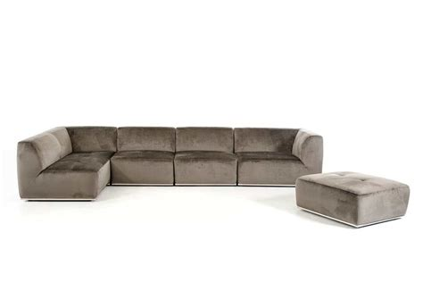 grey fabric sectional sofa contemporary grey fabric sectional sofa vg389 fabric