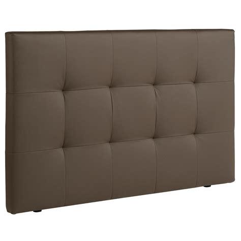 caisson cuisine pas cher tête de lit en bois matelassé largeur 167cm nino taupe