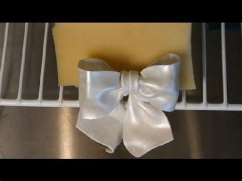 fondant gum paste wilton bows wedding