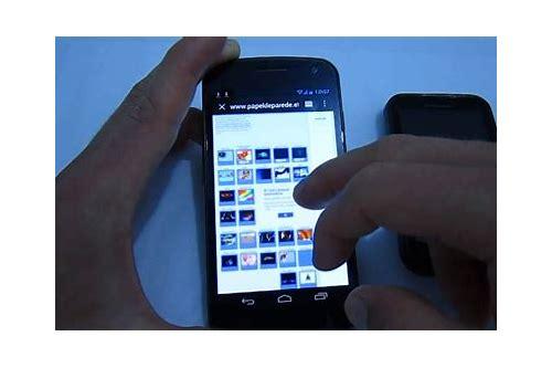 como baixar fotos da internet no celular