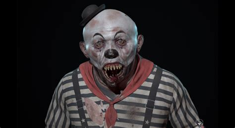 Evil Mime In Characters Ue Marketplace
