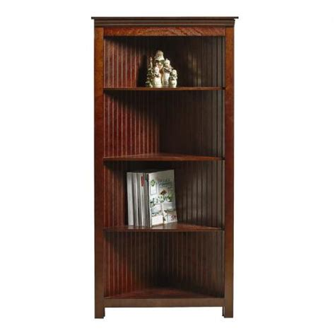 Beadboard Corner Bookcase  Christmas Tree Shops Andthat