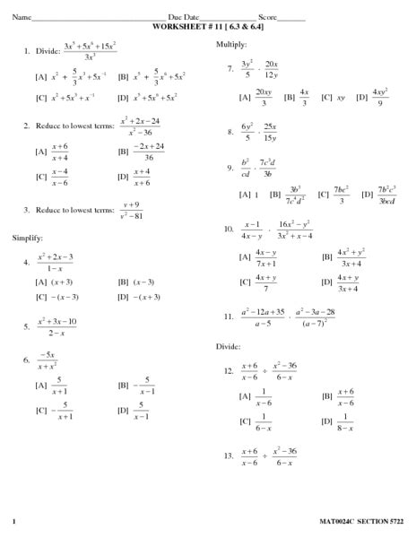 all worksheets 187 division polynomials worksheets