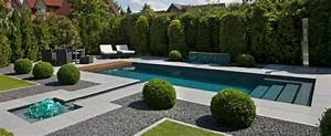 99 jardins et terrasses avec piscines de design moderne With jardin avec piscine design