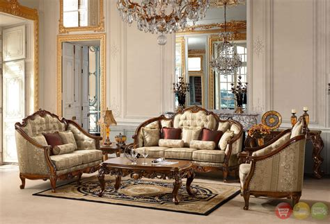 antique style luxury formal living room furniture set hd