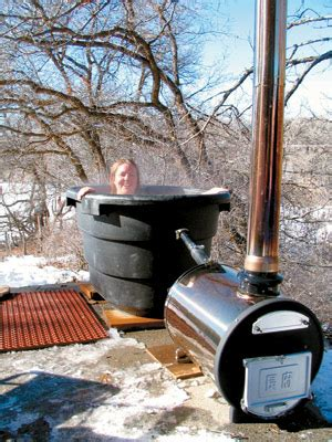 country lore wood fired hot tub diy mother earth news