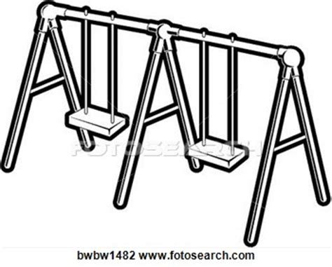 swing clipart black and white black white clipart swing pencil and in color black