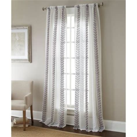 bed bath and beyond gray sheer curtains buy 95 quot sheer curtain from bed bath beyond