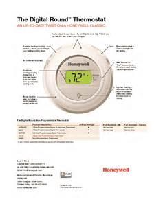 Honeywell Round Digital Thermostat