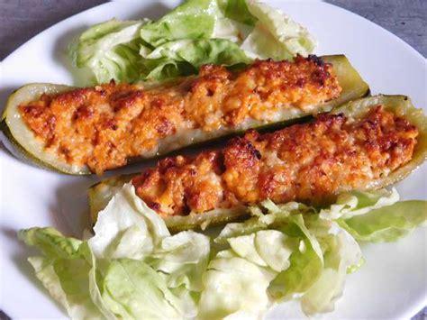 cuisine courgettes recettes de courgettes farcies et thermomix