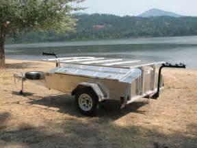 Aluminum Canoe Kayak Trailer Rack