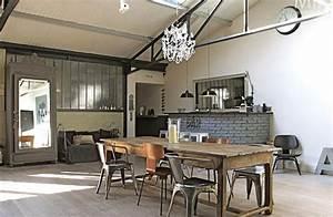 Deco Industrielle Atelier : d coration maison industrielle ~ Teatrodelosmanantiales.com Idées de Décoration