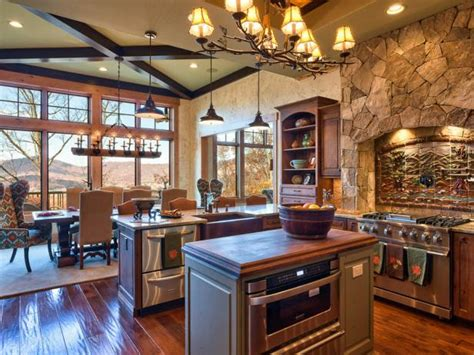 heathers country kitchen rustic kitchen with country appeal guss hgtv 1600