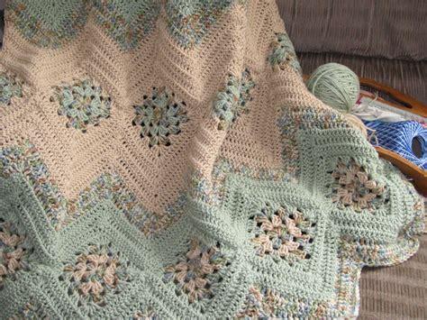 crochet afghan patterns grannies ripples crochet afghan free pattern diy