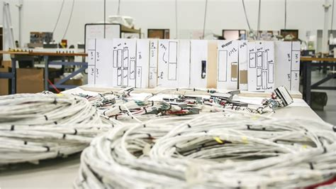 Aircraft Wiring Harnes Fabrication by Wire Harnessing