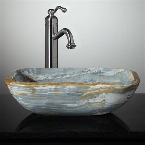 small bathroom vessel sinks painted kitchen floor small stone vessel sinks stone