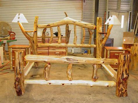 rustic log beds rustic bedding rustic log furniture