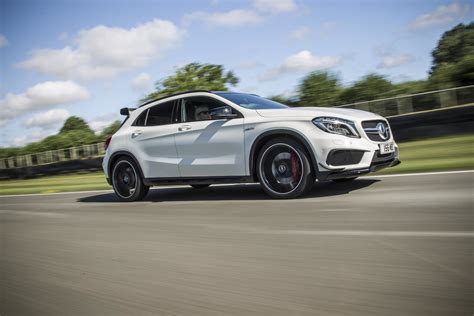 This affects some functions such as contacting salespeople, logging in or managing your vehicles for sale. Mercedes-Benz GLA 45 AMG with aero kit | PerformanceDrive
