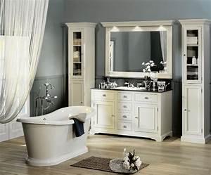 meuble de salle bain style ancien grande retro bois With meuble de salle de bain style retro