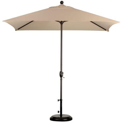 8 x 6 rectangular market umbrella leisure select