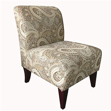 abigail surfside armless accent chair big lots 129 99