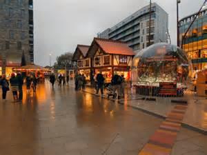 christmas market st johns square  david dixon