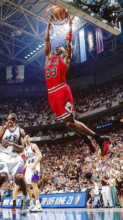 Basketball Jazz Jordan Michael Dunk Flying Dunking