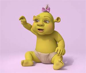 Cristian Dumitriu - Ogre Baby - Shrek The Third (DreamWorks)