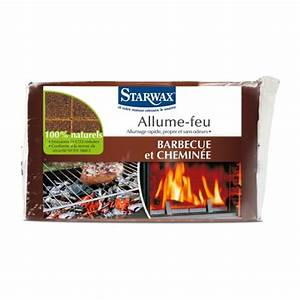 Allume Feu Cire : allume feu 100 naturel 28 pi ces starwax manubricole ~ Premium-room.com Idées de Décoration