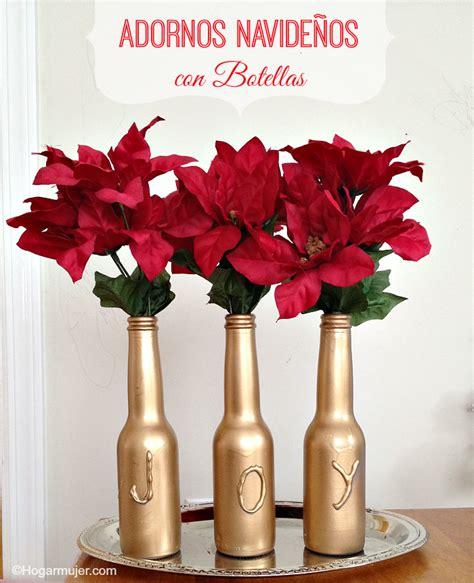 diy adornos navide 241 os con botellas holidays navidad navidad
