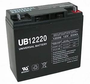 New Genuine Ub12220 40696 Agm 12v 22ah 12 Volt 22 Amp