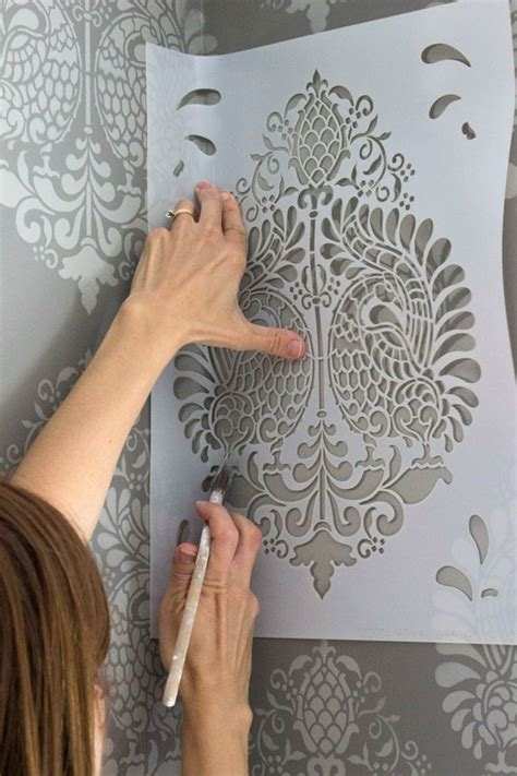 stenciling design stenciling how to tips tricks pics driven by decor