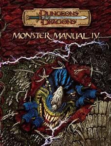 Monster Manual Iv 3 5