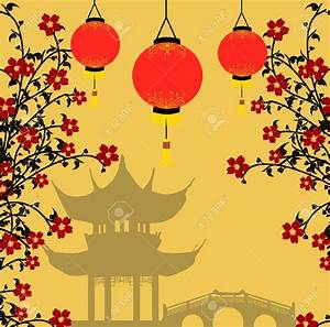 Traditional Chinese Lanterns For Chinese New Year And ...