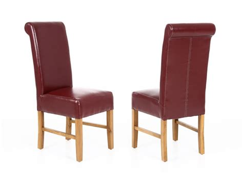 red leather emperor dining room chair  top furniture