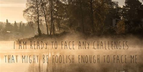 I Am Ready To Face Any Challenges That Might Be Foolish Enough To Face Me Schrutewallpapers