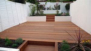 Deck london garden blog for White garden walls