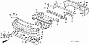 98 Integra Rear Bumper Clips